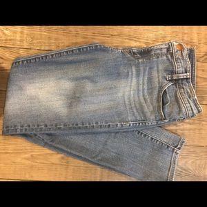 Ladies Loft straight leg jeans